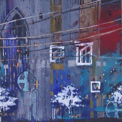 A006 - Wiele spraw… - pastel - 100 x 70 | Many Matters…