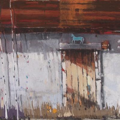 A008 - Konik morski - pastel - 100 x 70 | Sea Horse
