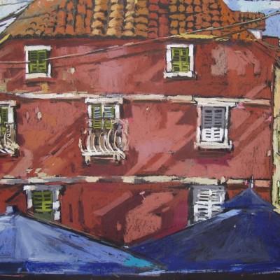 A016 - Omis - pastel - 80 x 69 | Omis