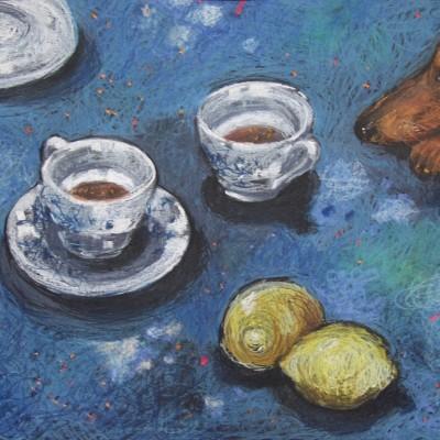 D007 - Filiżanki - pastel - 70 x 56 | Cups