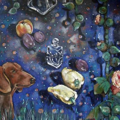 D008 - Popołudnie Fauna - pastel - 100 x 70 | Faun'S Evening