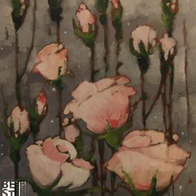 B019 - Czerwcowe wspomnienie - olej - 30 x 30 | The June Memories