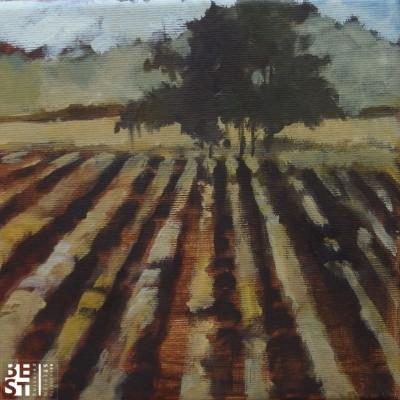 B021 - Jesiennie 1 - olej - 20 x 20 | Autumn 1