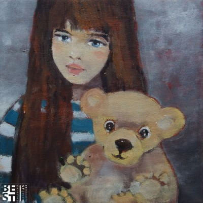 C028 - Pluszowo - pastel - 45 x 29 | Teddy Bear